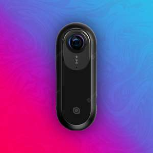 Insta360 One: 360° 4K Videokamera - für iPhone/iPad - 7K Fotos - 820mAh Akku