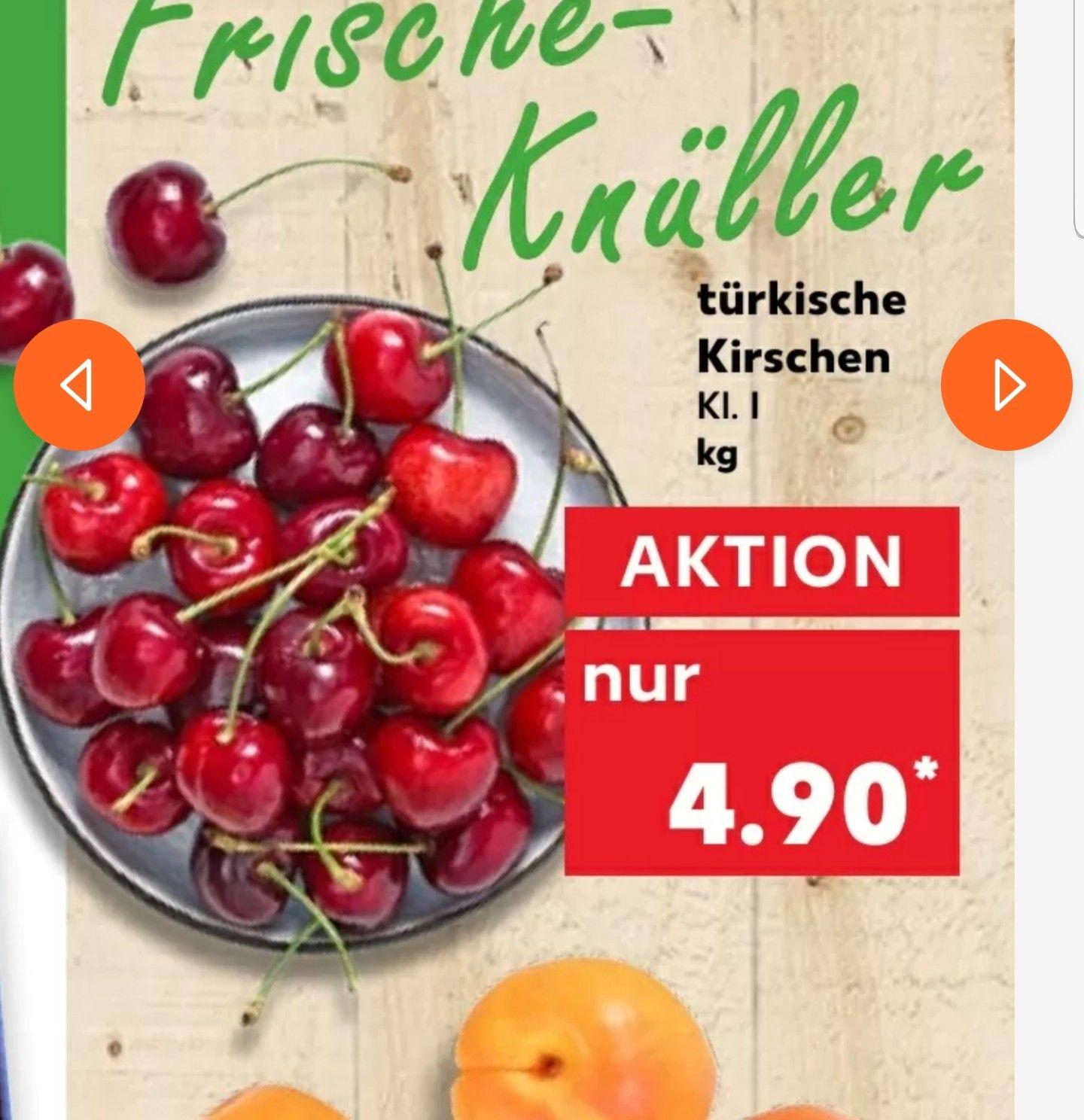 (Kaufland) Türkische Kirschen für 4,90 je KG! (Ab 3.6)