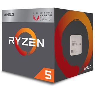 AMD Ryzen 5 2400G, 4x 3.60GHz, boxed, inkl. Versand (104,90€ ohne VK) & Inkl. The Division 2 Gold + World War Z