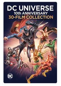 [Itunes US] DC Universe - 30 Filme als Set - Batman, Superman usw - nur OV