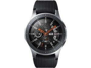 SAMSUNG Galaxy Watch 46 MM LTE Smartwatch Edelstahl, Silikon, S,L, Bicolor