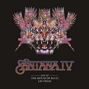 [Amazon / Prime + Saturn] Santana IV - Live At The House of Blues Las Vegas (DVD + 3 LPs Set)