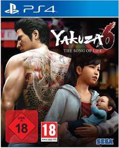 Yakuza 6: The Song of Life (PS4) für 15,99€ (Müller & Amazon)