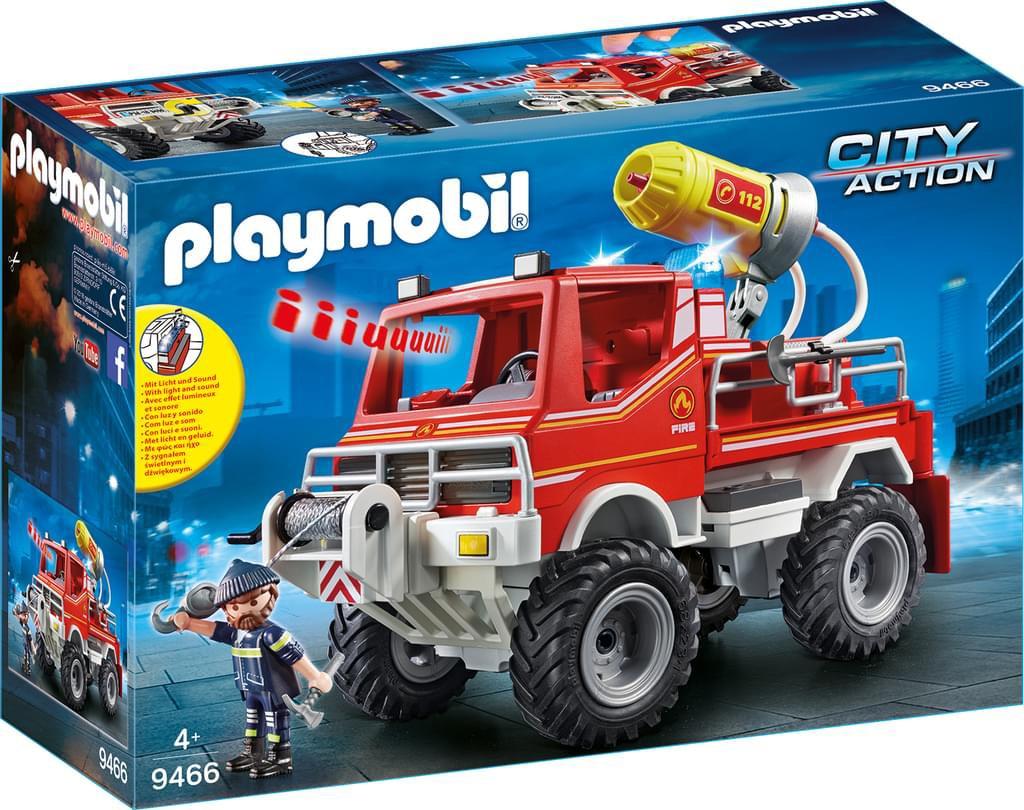 Playmobil 9466 Feuerwehr-Truck für 13,99 € [real]