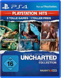 Uncharted: The Nathan Drake Collection (PS4) für 15,99€ (Müller)