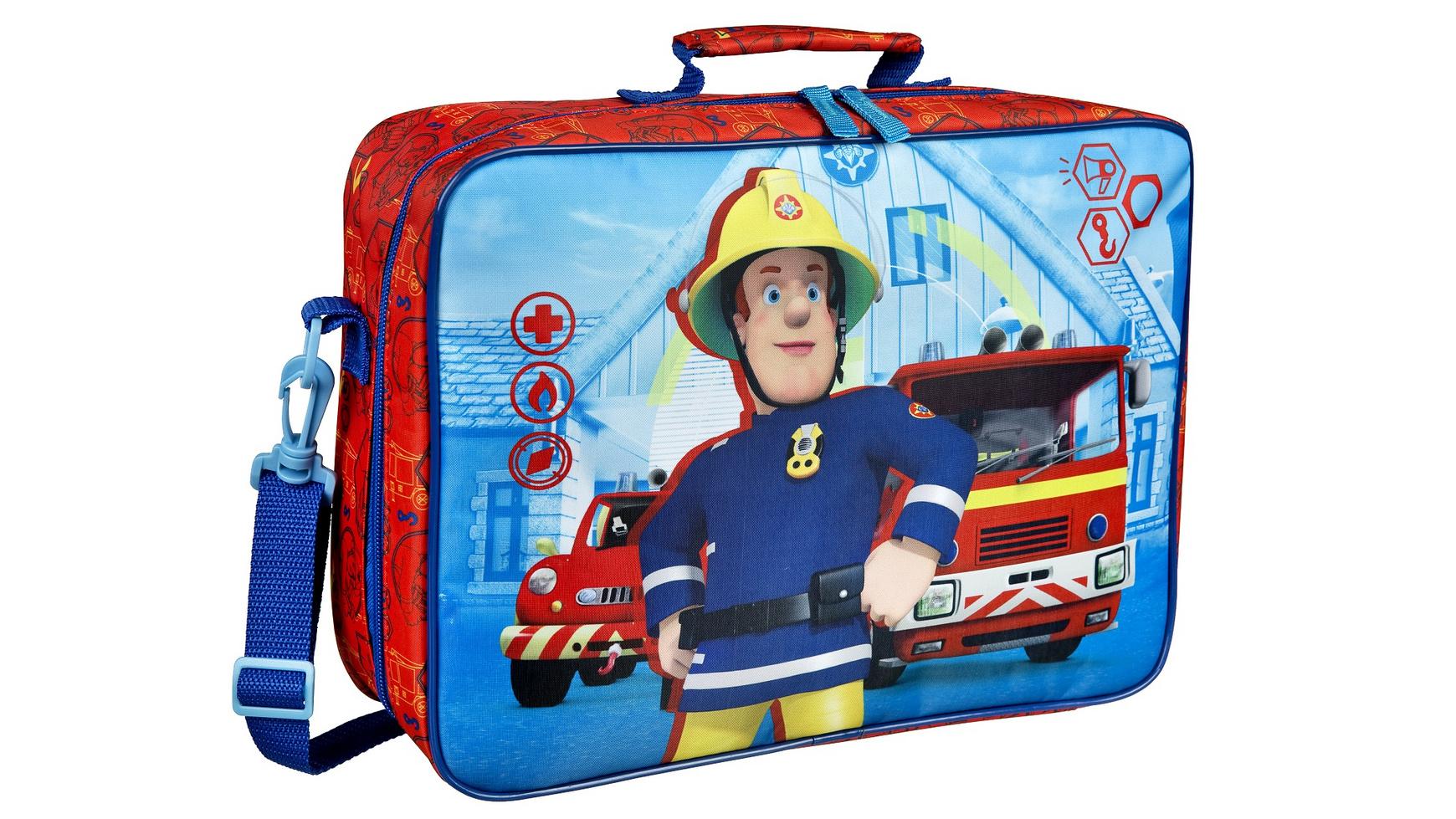 Undercover - Feuerwehrmann Sam Kinderkoffer für 7,20€ (Müller)