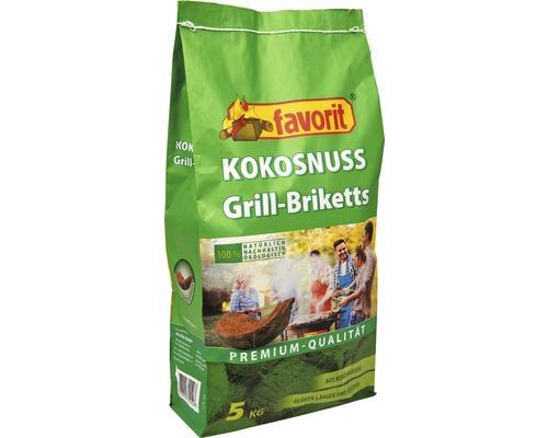 Kokosgrillkohle - Kokosnuss Grill-Briketts
