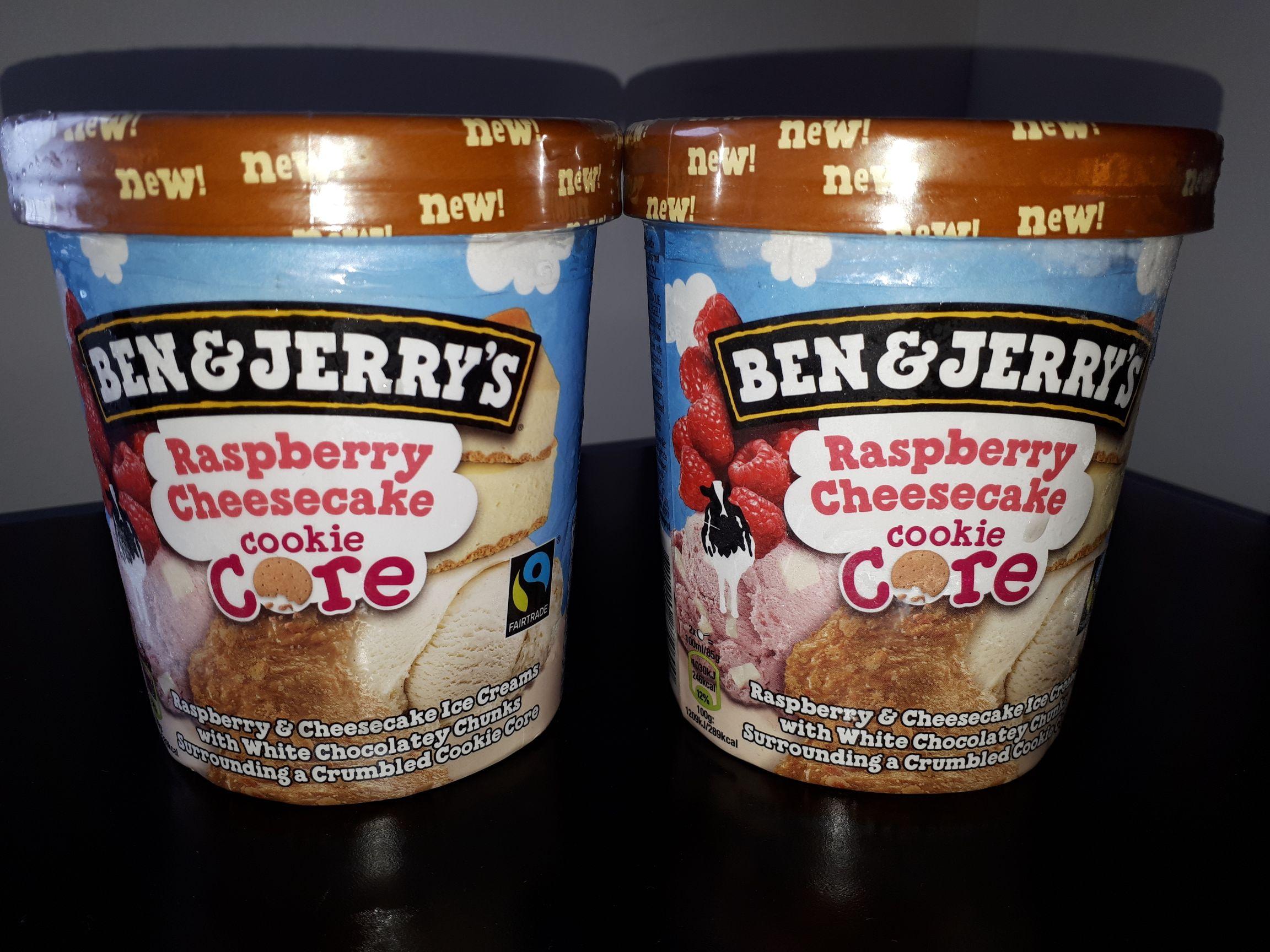 (lokal) Ben & jerry's raspberry cheesecake Grenzgänger NL ter huurne HollandMarkt