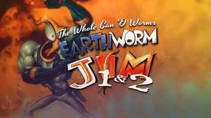 Earthworm Jim 1 & 2: The Whole Can 'O Worms (PC) für 3,09€ (GOG)