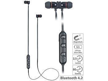 In-Ear-Stereo-Headset SH-30 v2 mit Bluetooth 4.2 und Magnet-Verschluss