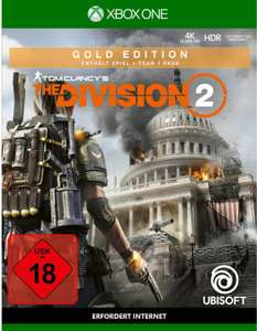 Tom Clancy's The Division 2 Gold Edition (Xbox One) für 47,99€ (Müller & Amazon)