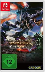 Monster Hunter Generations Ultimate (Switch) für 31,99€ (Amazon & Müller)