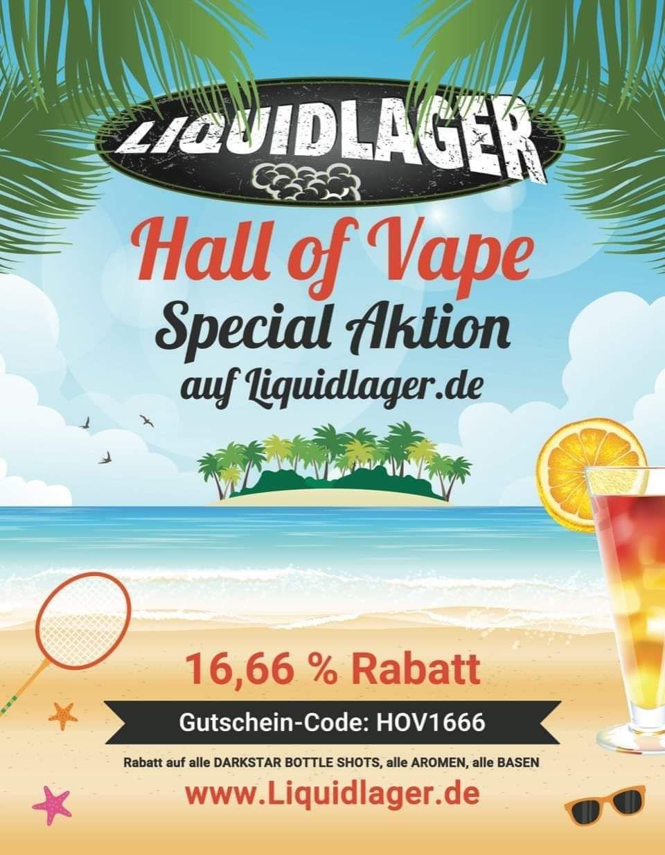 [liquidlager.de] 16,66% Rabatt zur Hall of Vape