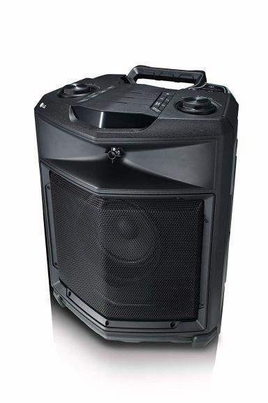 LG RK3 - mobiler All-in-One Lautsprecher (mit Akkubetrieb und Transportrollen)