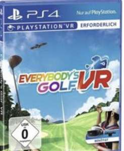 [Müller PS4 VR] Everybodys Golf VR, Ghost Giant, The Wizards, Moss u.a. 23,99€