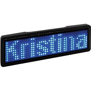[Reichelt Elektronik] LED Namensschild in schwarz/blau (Paydirekt)