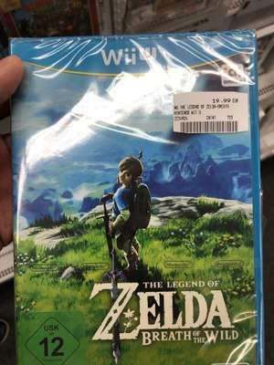 [Lokal Homburg Saar] Zelda Breath of the wild Wii U