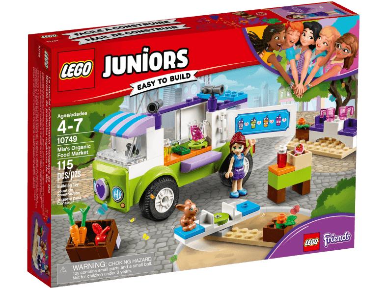 LEGO Juniors - Mias Bio Foodtruck (10749) für 9,69€ inkl. Versandkosten [Saturn@ebay]
