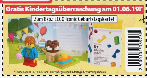 [offline] Spielemax - gratis Kindertagsüberraschung am 01.06. - z.B. LEGO Iconic