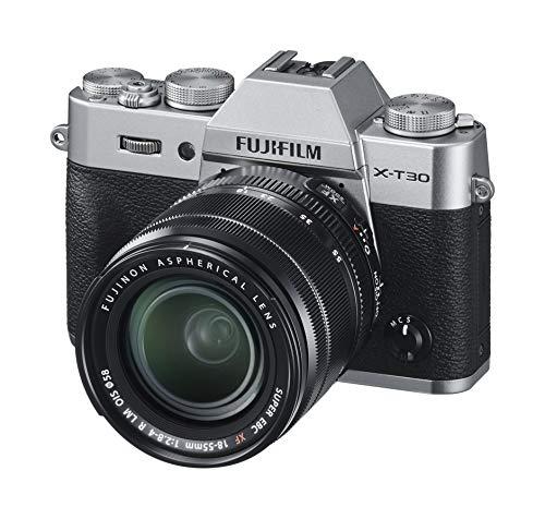 Fujifilm X-T30 Systemkamera + XF18-55mm Objektiv Kit Silber für 1.061,45€ /// X-T30 Body für 776,39€