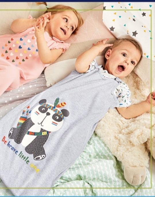 Sommer-Schlafsack für Babys/Kinder (70, 90 und 110) aus Bio-Baumwolle bei [Aldi Süd] ab 11.06.