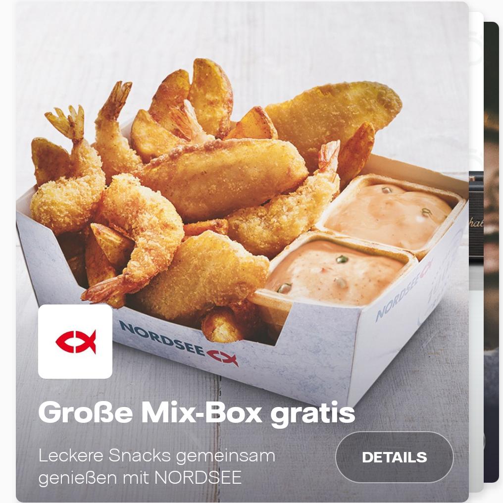 [Vattenfall Kunden] Nordsee Große Mix-Box gratis / 2 für 1 UCI Kinoticket / Freifahrten für MOIA & nextbike / Opodo 20€ Rabatt ab 100€