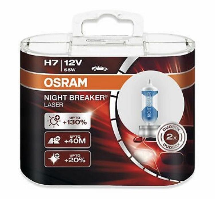 OSRAM NIGHT BREAKER LASER H7