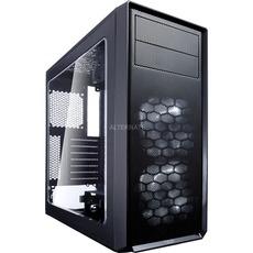 Fractal Design Focus G Black, Tower-Gehäuse (schwarz, Window-Kit)