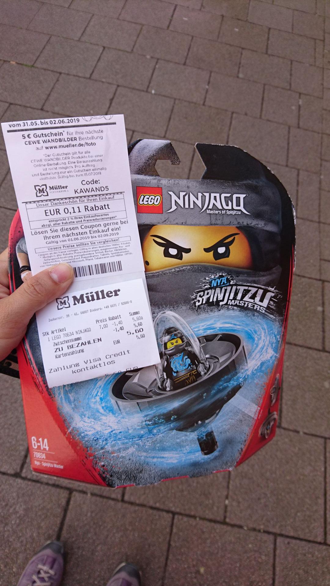 Lokal Müller Dieburg - Lego 70634 Nya Spinjitzu