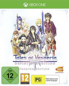 Tales of Vesperia Definitive Edition (Xbox One & PS4) für je 23,99€ (Amazon Prime & Müller)