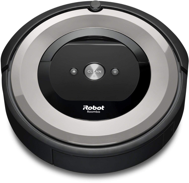 Saugroboter iRobot Roomba E5 (3 Stufen, bis 90min Betriebsdauer, Treppenerkennung, App- & Sprachsteuerung, inkl. virtuelle Wand)