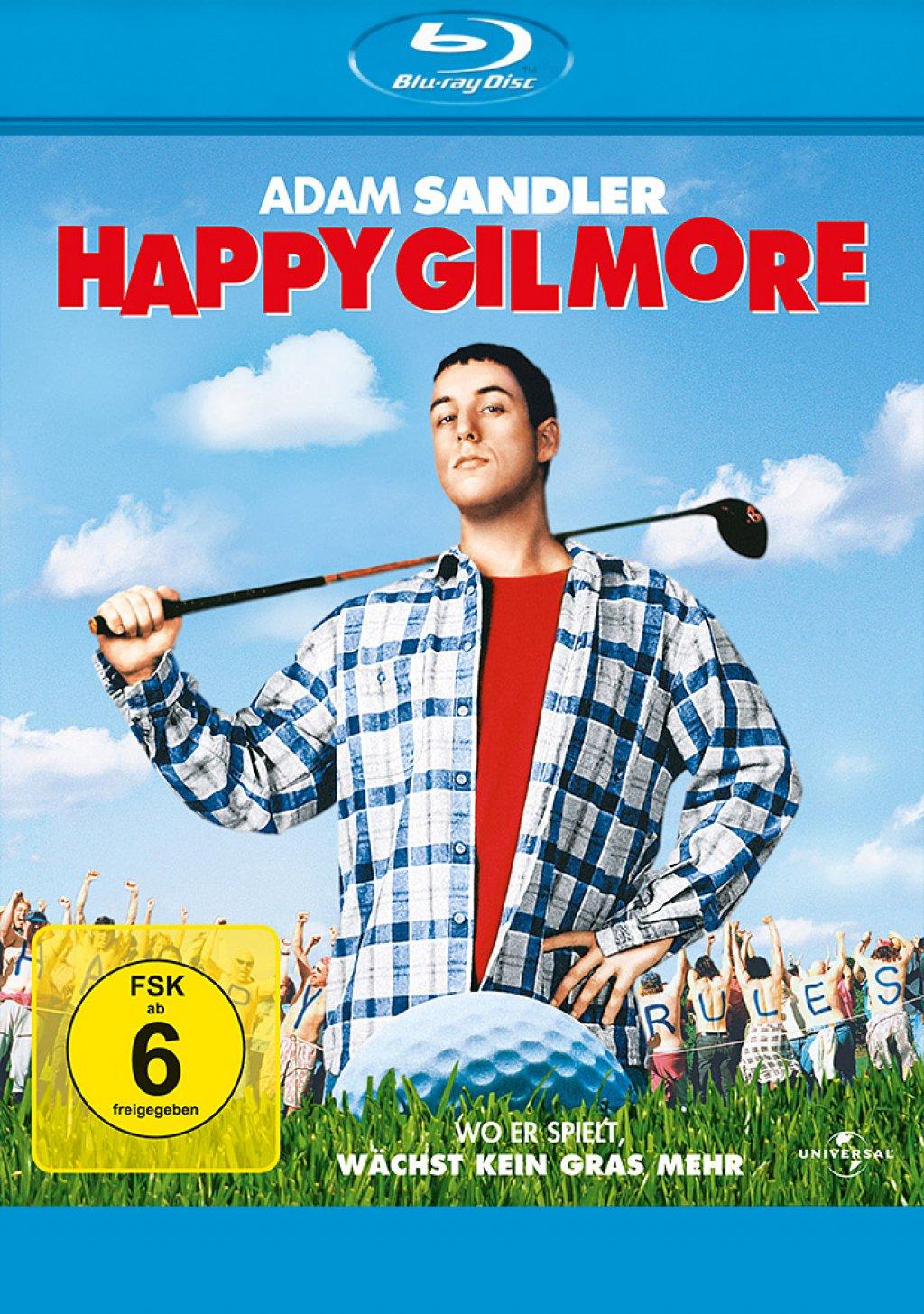 Happy Gilmore - Ein Champ zum Verlieben (Blu-ray) für 4,25€ (Müller)