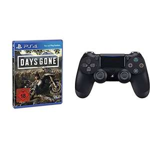Days Gone Controller Bundle (Days Gone - Standard Edition + PS4 Controller schwarz)