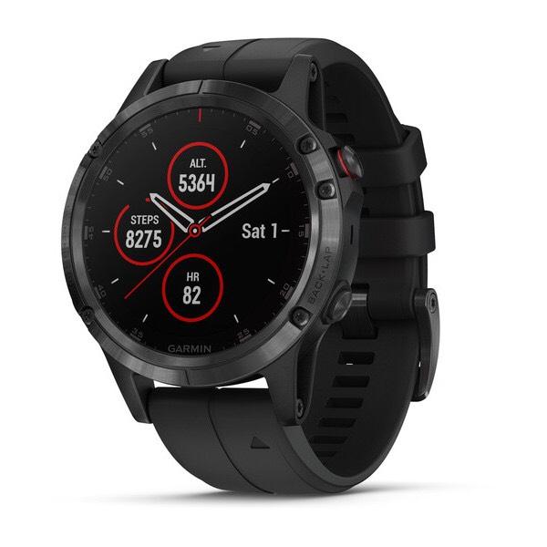 Garmin Fenix 5 Plus Sapphire - GPS-Multisport Smartwatch