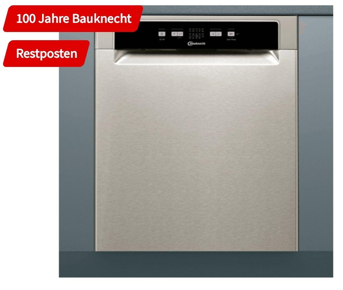 Bauknecht BUE 2B19 X Geschirrspüler (unterbaufähig, 600mm breit, 49 db, A+