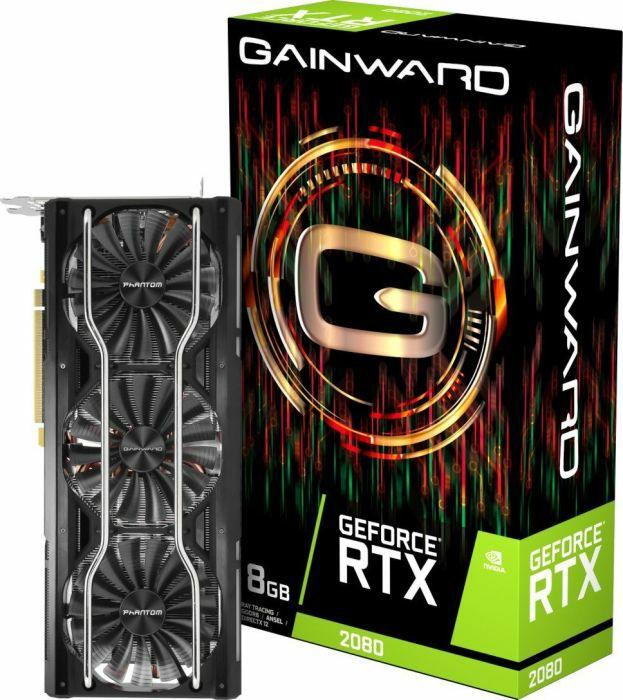 [Vorbestellung] Gainward GeForce RTX 2080 Triple Grafikkarte - 8GB GDDR6 (Amazon.es)