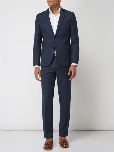 Hugo Boss Astian/hets184 - Extra Slim Fit Anzug aus reiner Schurwolle - Dunkelblau oder Anthrazit [Peek & Cloppenburg]