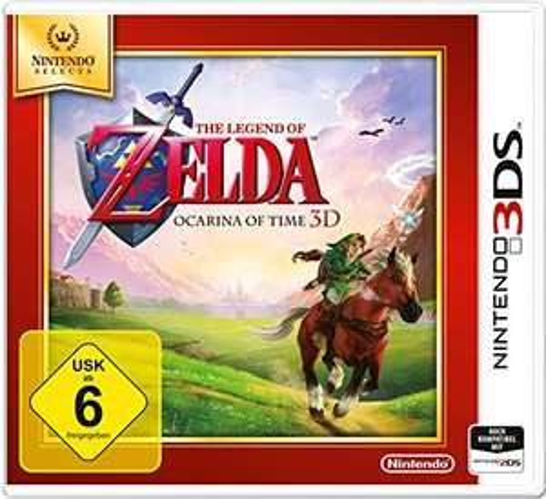 The Legend of Zelda: Ocarina of Time 3D (3DS) für 15,99€ (Amazon Prime & Müller)
