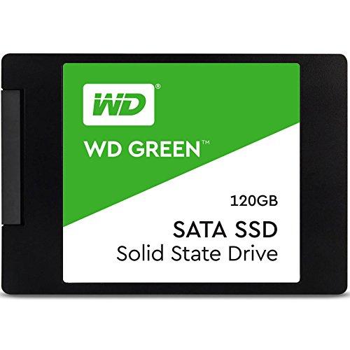 WD Green SSD 120 GB, 2,5 Zoll interne Festplatte bis zu 545 MB/s Lesegeschwindigkeit [Amazon Prime]