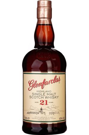 Single Malt Whisky / Whiskey Glenfarclas 21