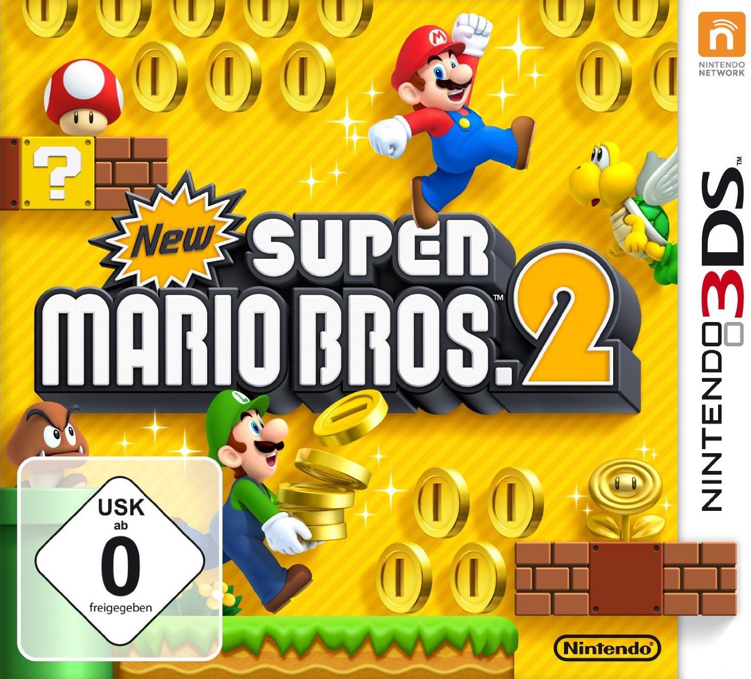 New Super Mario Bros .2 (3DS) für 27,99€ (Müller)