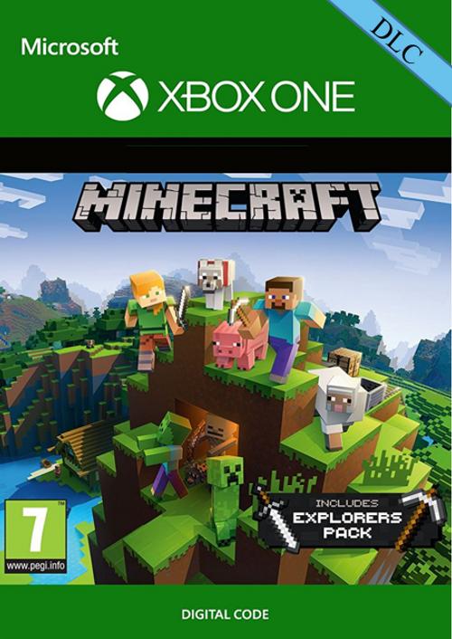 Minecraft: Explorers Pack DLC (Xbox One Digital Code) für 0,89€ (CDKeys)