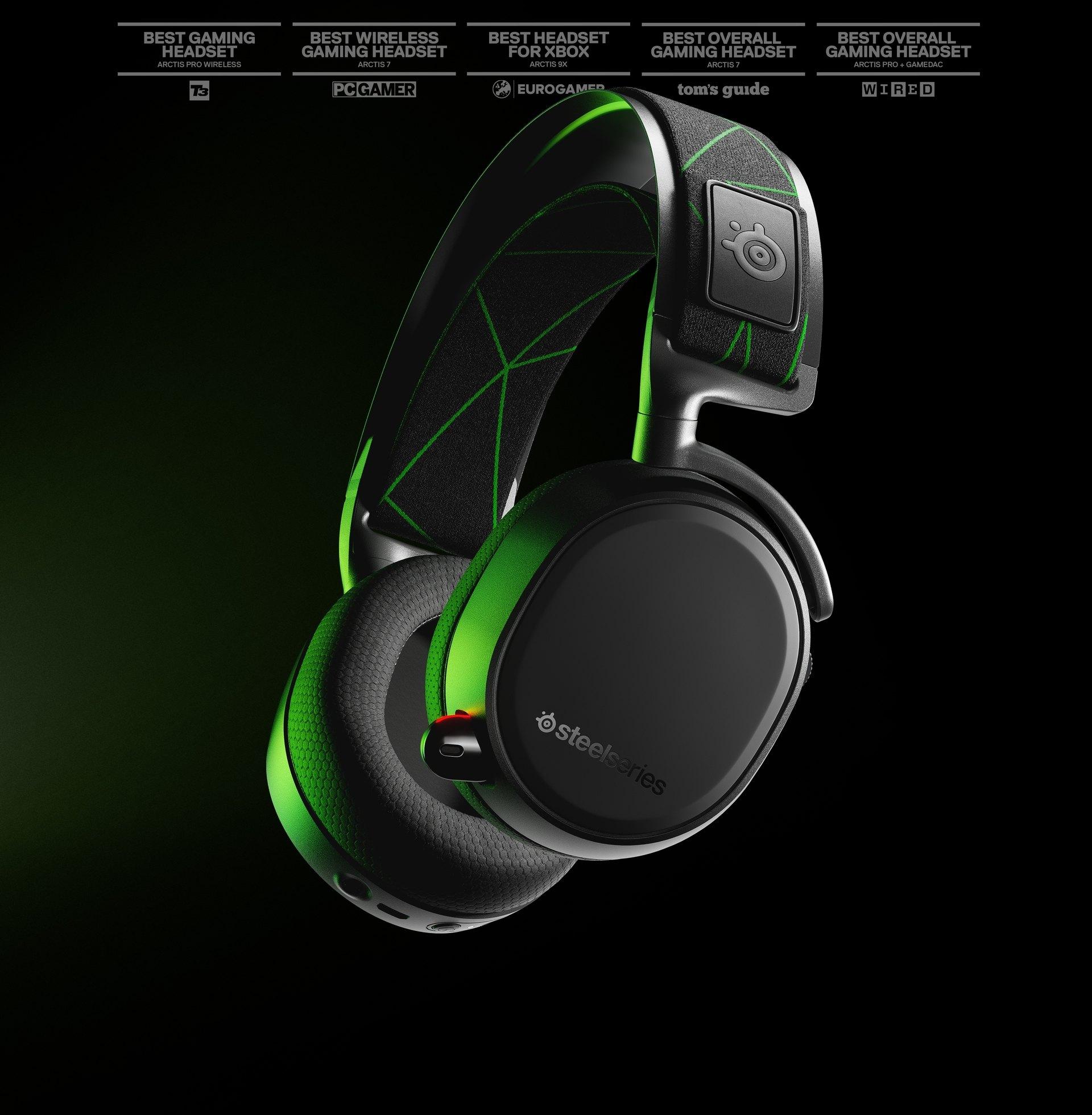 Steelseries Arctis 9X Wireless Gaming Headset für Xbox,PC & Smartphone + Zugabe
