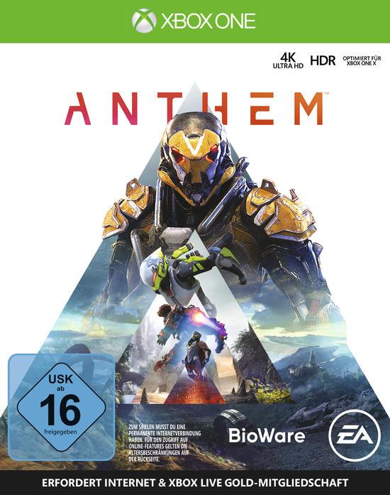 Anthem (Xbox One Retail) für 23,99€ & Anthem: Legion of Dawn Edition (Xbox One Digital Code) für 22,99€ (Amazon Prime & Müller & CDkeys)