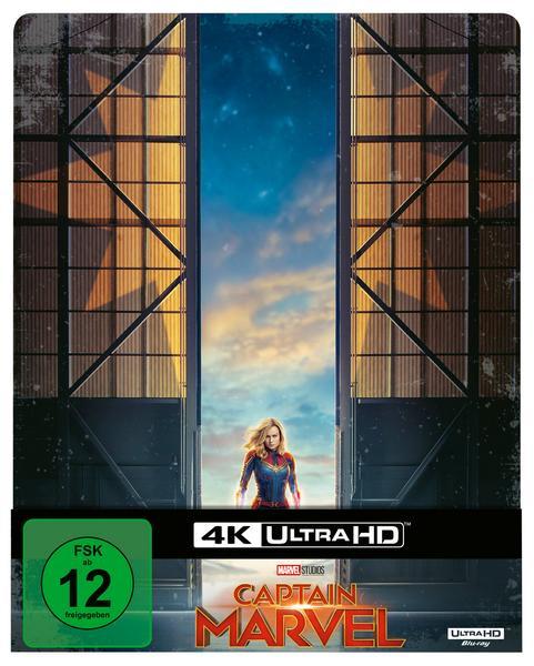 [Thalia] Captain Marvel - 4K Ultra HD Limited Steelbook (4K Ultra HD Blu-ray + Blu-ray) für 23,99€ inkl VSK (Versandkostenfrei)