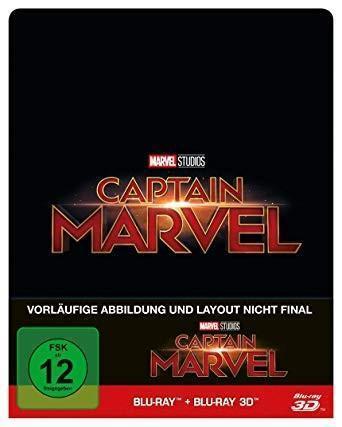 [Thalia] [Vorbestellen] Captain Marvel - 3D Limited Steelbook Edition (3D Blu-ray + Blu-ray) für 22,39 € inkl. VSK (Versandkostenfrei)