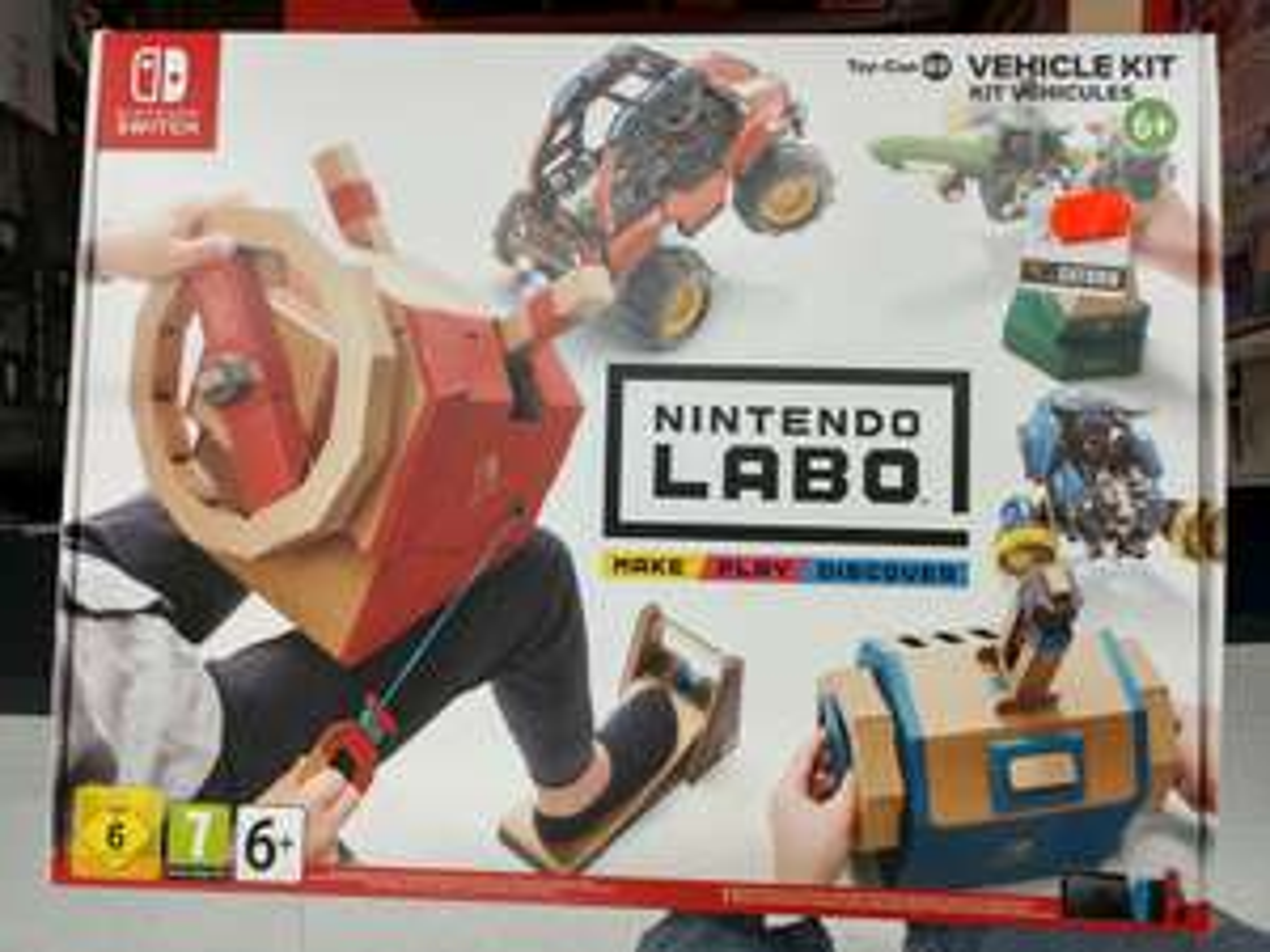 Nintendo Labo: Toy-Con 03 - Fahrzeug-Set [Saturn Berlin Gesundbrunnen]