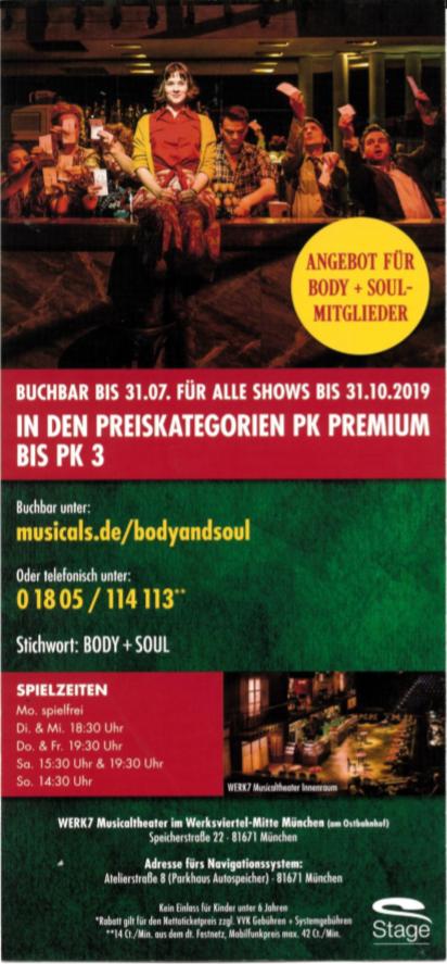 [Lokal München] Amelie: Das Musical -30% Preisvorteil