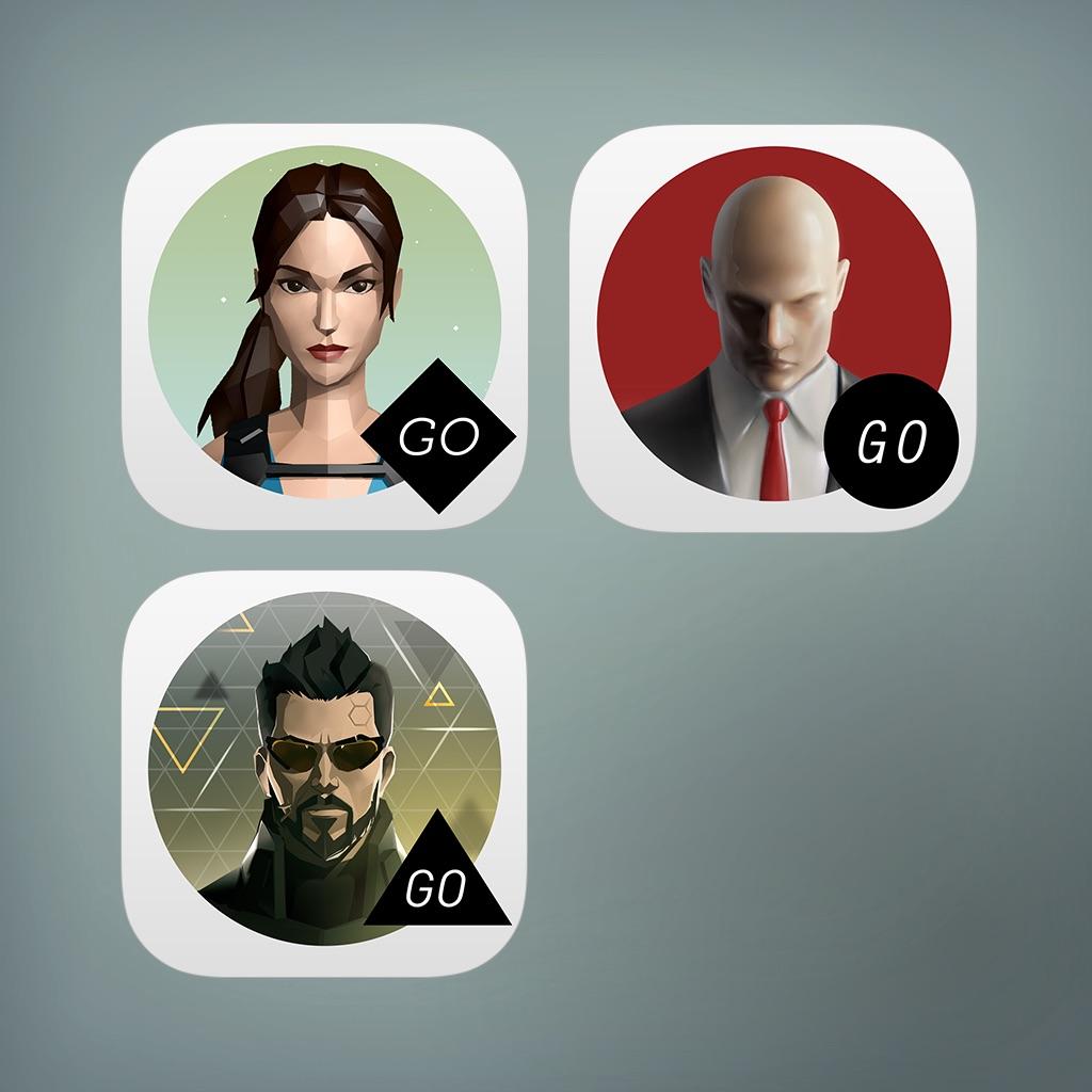 [Google Play] Lara Croft, Deus Ex, Hitman GO (jeweils 80%)