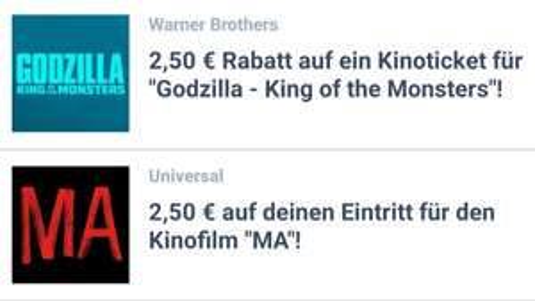 [Coupies] 2,50€ Rabatt Coupon für 'Godzilla' Oder 'Ma' Kinokarten